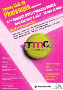 Tournoi Multi-Chances Dames – T.C. Phalempin